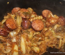 RCR Cabbage with Sugar Roux