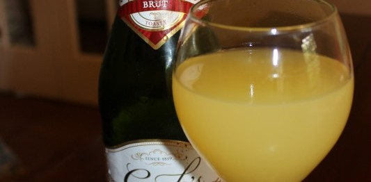 Orange Juice Champagne Mimosa