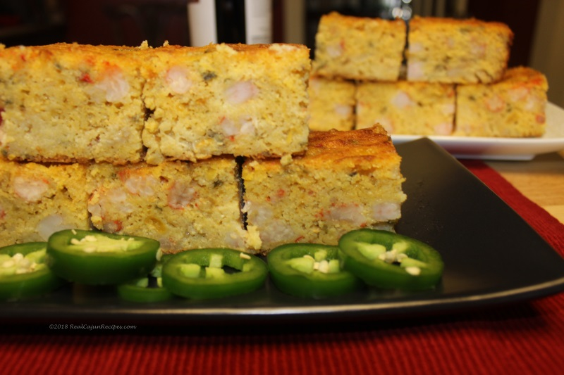Crawfish and Shrimp Cornbread