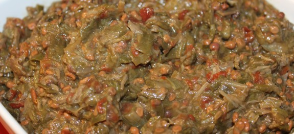 Stewed Smothered Okra Oven Or Stove Top