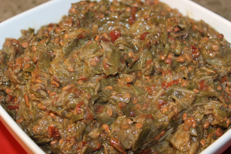 Stewed (Smothered) Okra – Oven or Stove Top ...