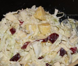 Cabbage Apple Pineapple Slaw