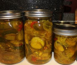 Priscilla's Bread and Butter Pickles