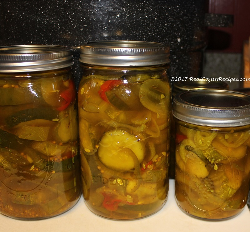 Brown Sugar Bread and Butter Pickles
