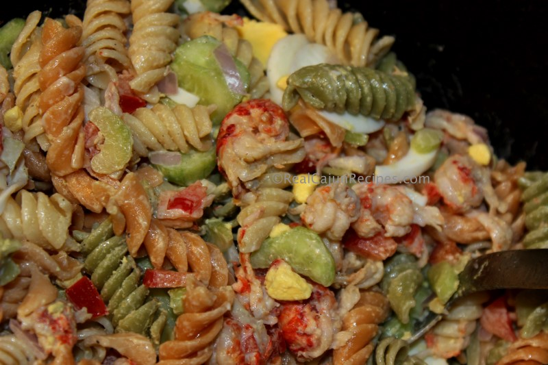 how to make cajun crawfish pasta