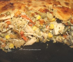 Cast Iron Chicken Pie