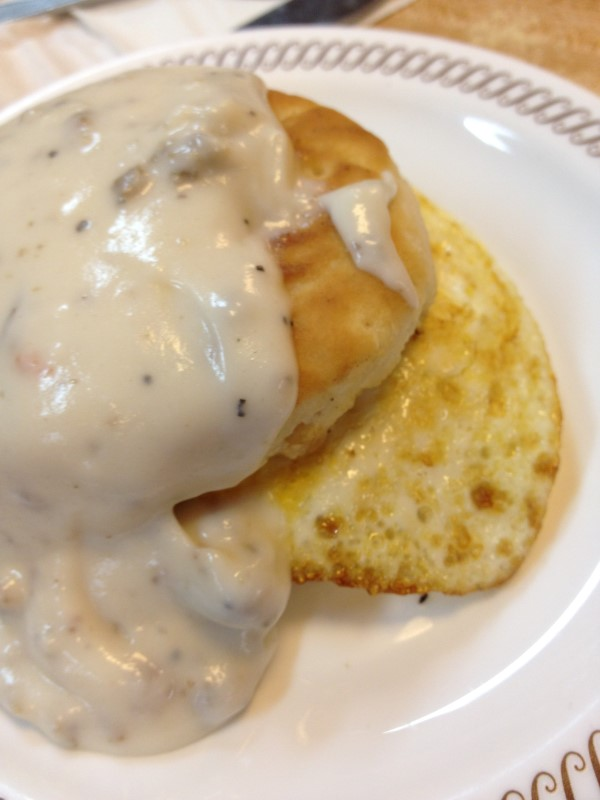 Creamed Ground Meat White Gravy