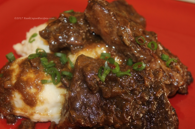 Beef Short Ribs Brown Gravy