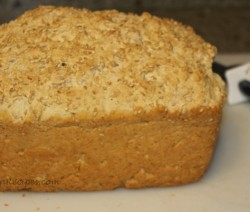 Beer Bread Sesame Topping