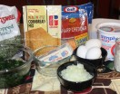 Spinach Cornbread Ingredients
