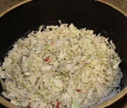 Cabbage abd apple slaw