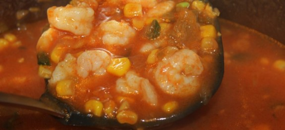 Shrimp and Corn Soup (2) (Custom)