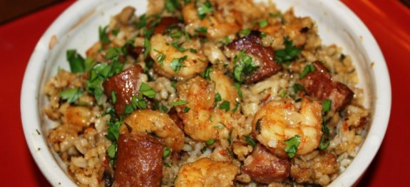 RCR Hitachi Shrimp Jambalaya
