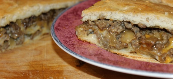 Stuffed Meat Bread