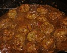 MEATBALL & ONION GRAVY