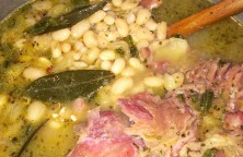 Yummy Ham and Bean Soup