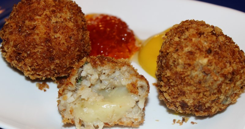 Boudin Balls Stuffed with Pepper Jack Cheese | RealCajunRecipes.com ...