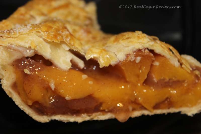 Whole Peach Pie