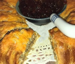 Boudin Stuffed Crescent Ring