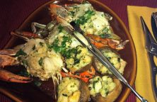 Stuffed Crabs and Mushrooms