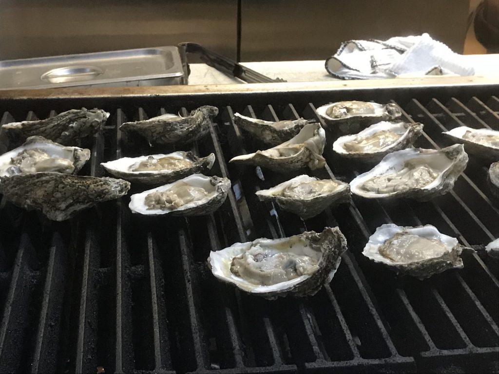 Fezzo's Grilled Oysters